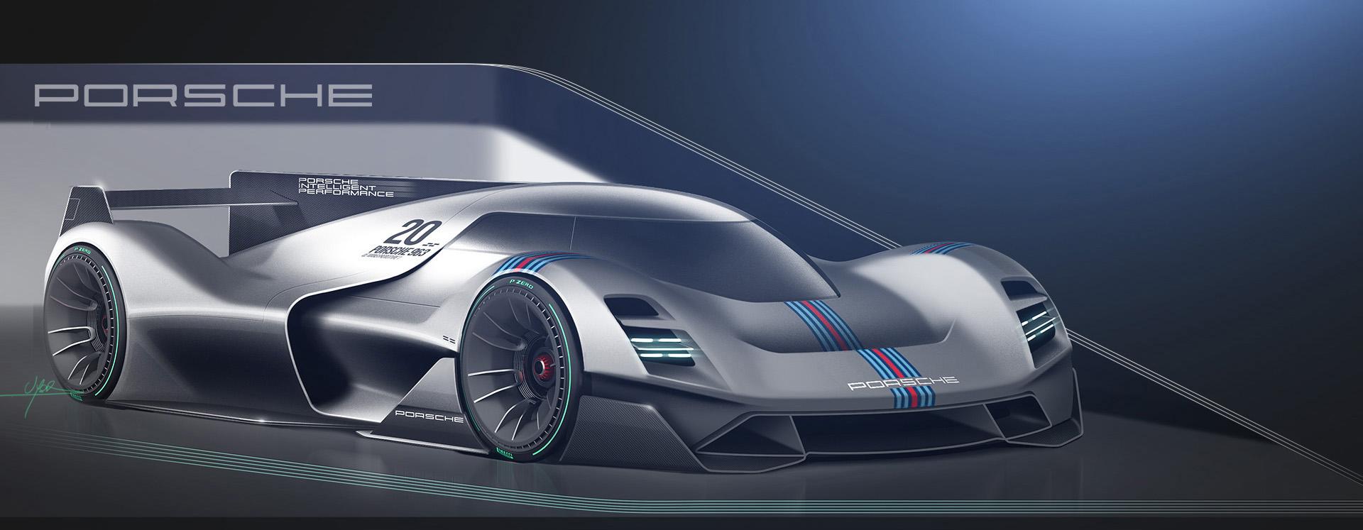 Porsche Vision GT WIP on Behance on vision mazda gt, vision ford gt, vision toyota gt, vision nissan gt,