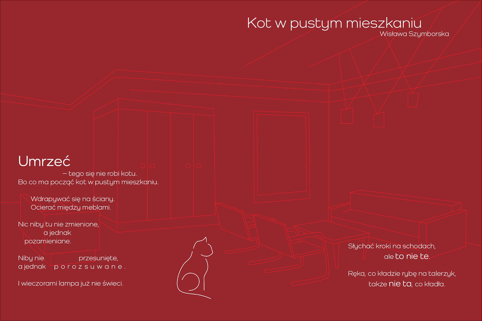 Kot W Pustym Mieszkaniu Zbiór Ilustracji On Behance