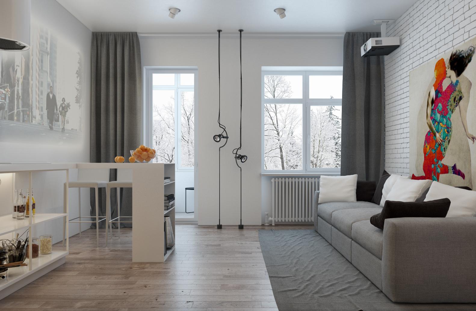 500 Sq Ft Studio Apartment Design | Studio Apartment Design Ideas ...