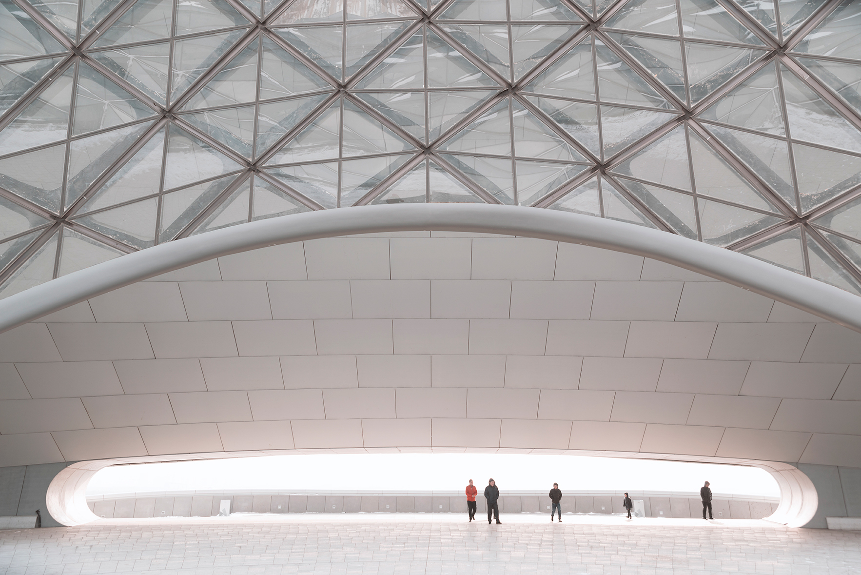 Exploring the Harbin Grand Theatre in Heilongjiang, China