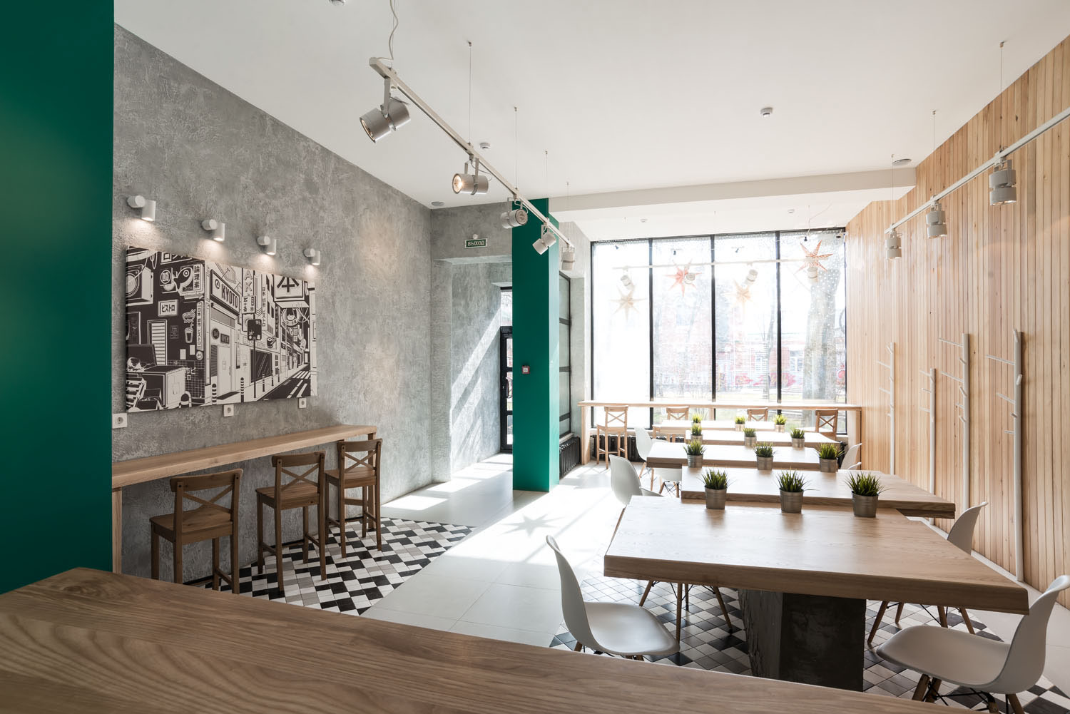 wok-cafe - interior design & branding