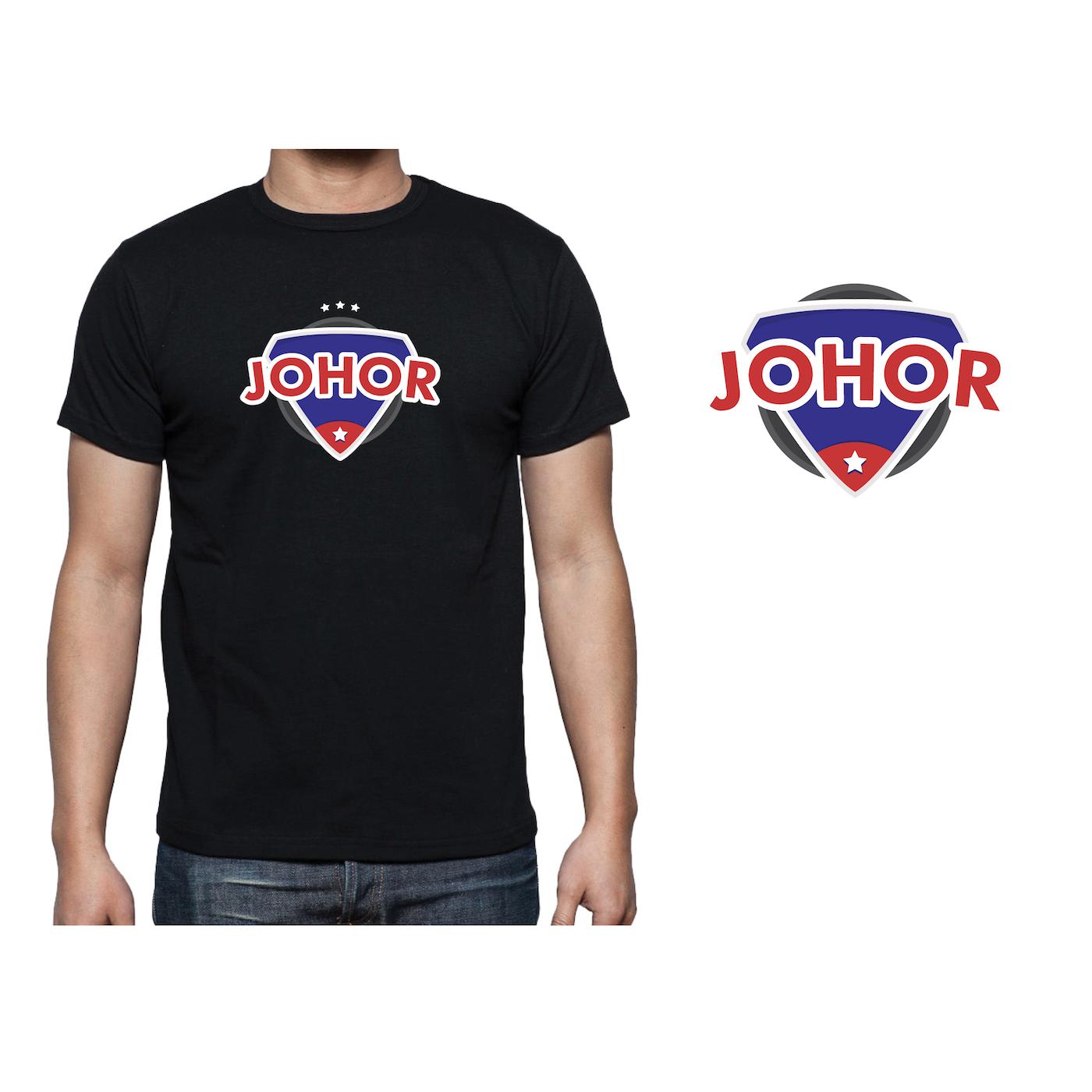 Design t shirt johor - Design 4