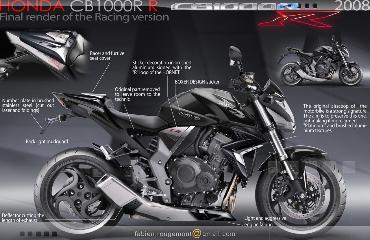 HONDA CB1000R R Racing Upgrade On Behance