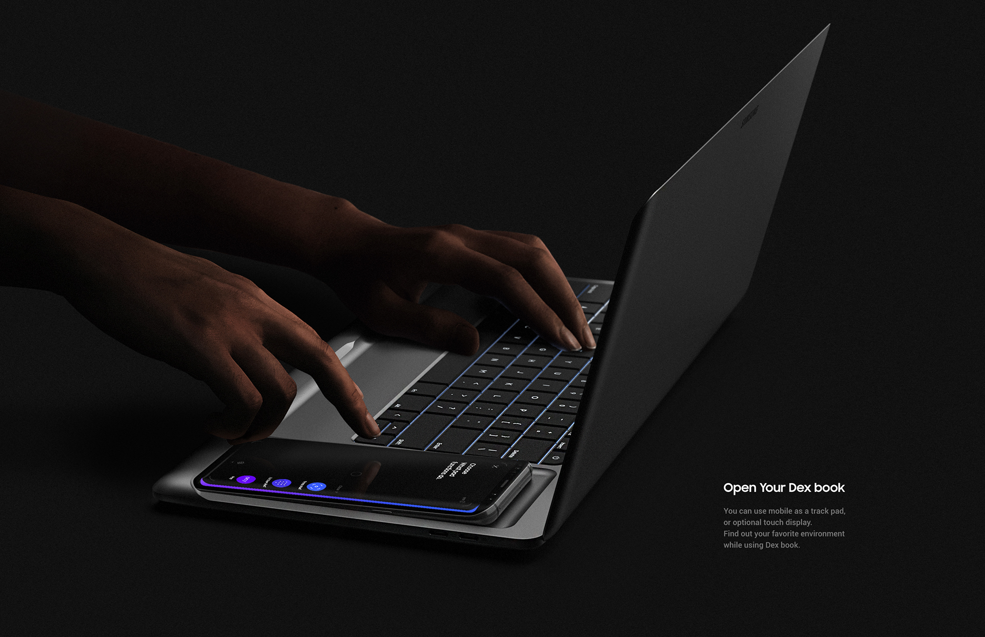 Industrial Design: Samsung Dex Book Concept