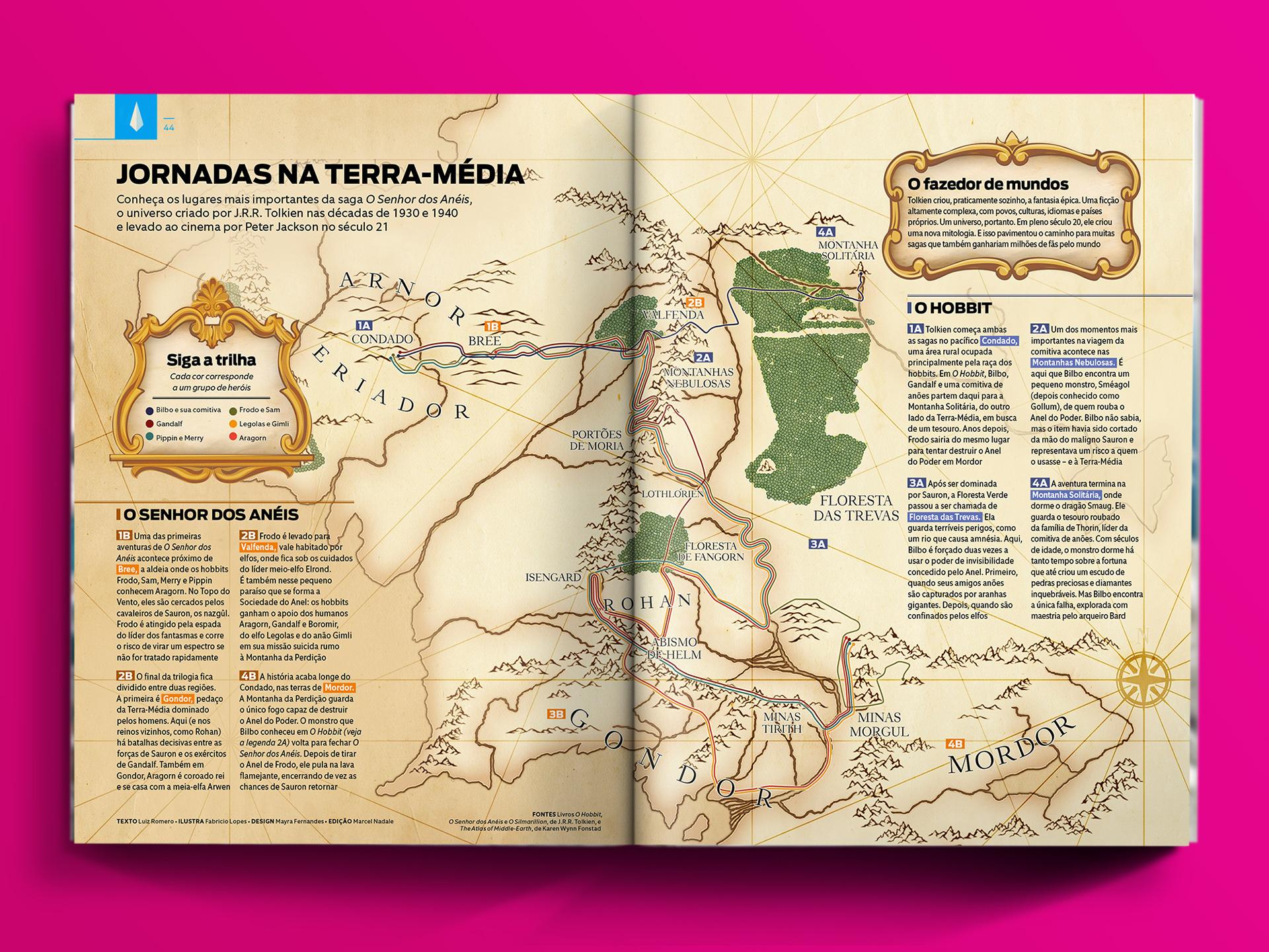 Mapas Da Cultura Pop On Behance