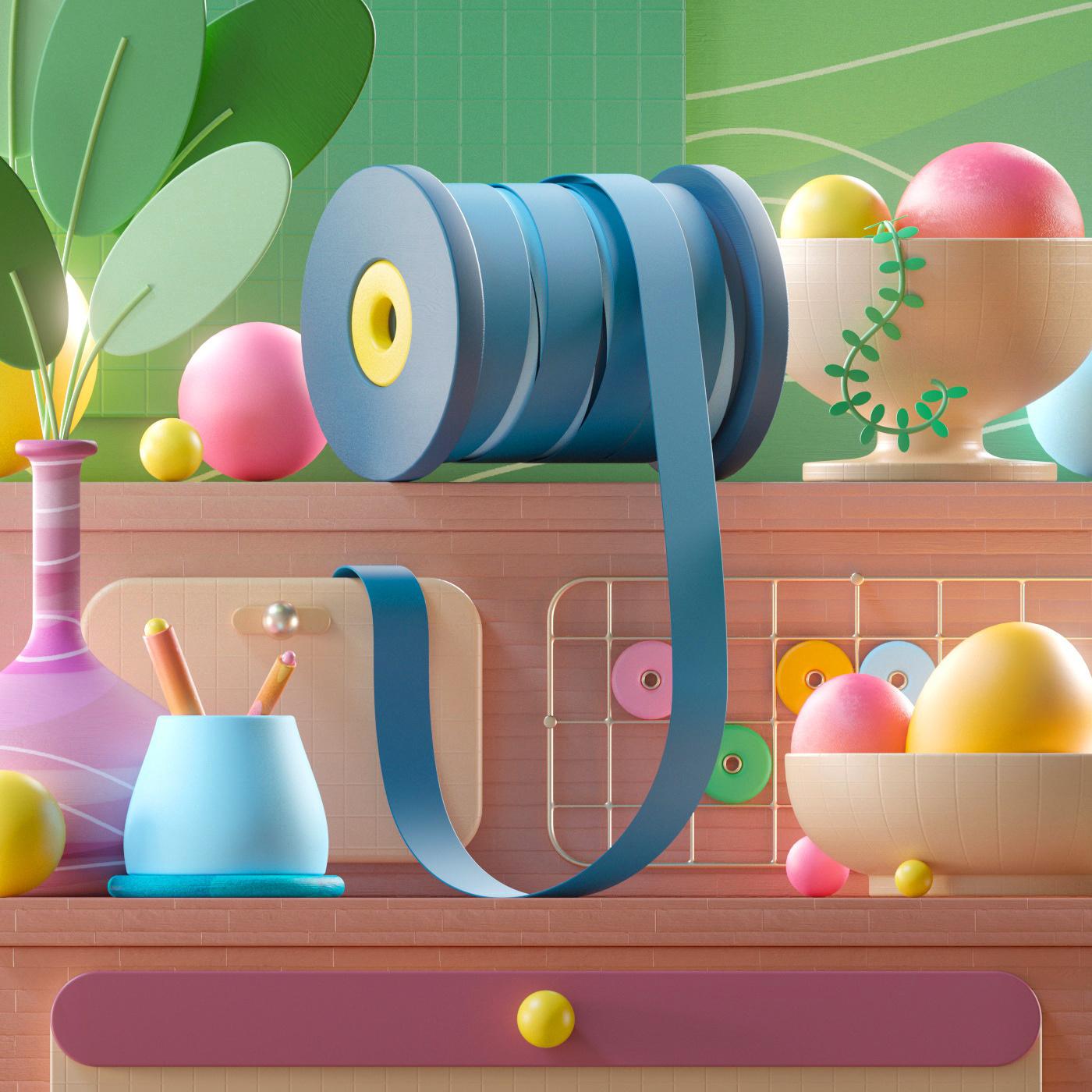 A colorful world - 36daysoftype 2021