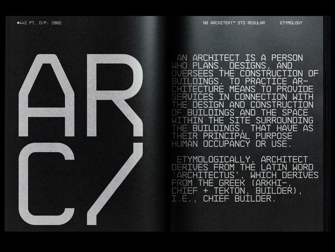 NB Architekt Std & Neue Edition (2002/18) on Behance