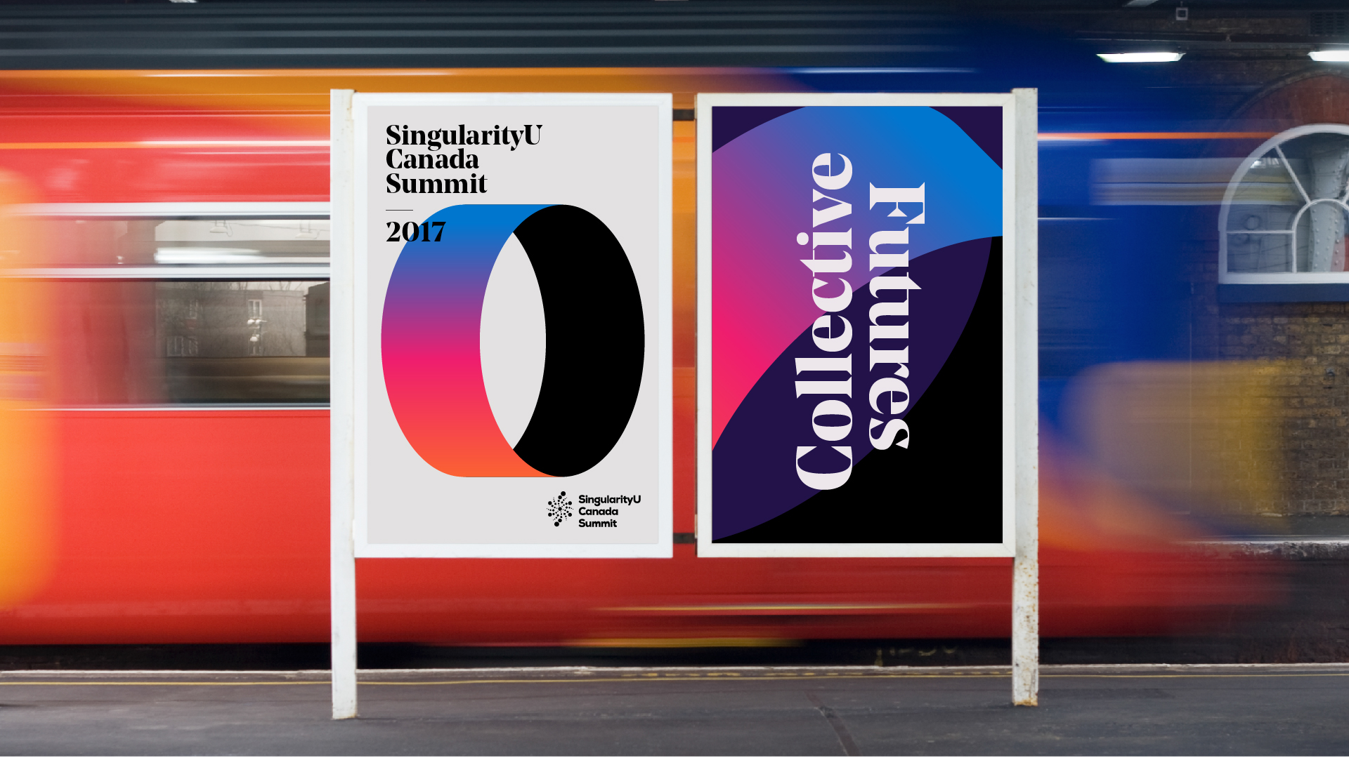 A Look at the SingularityU Canada Summit Brand Identity