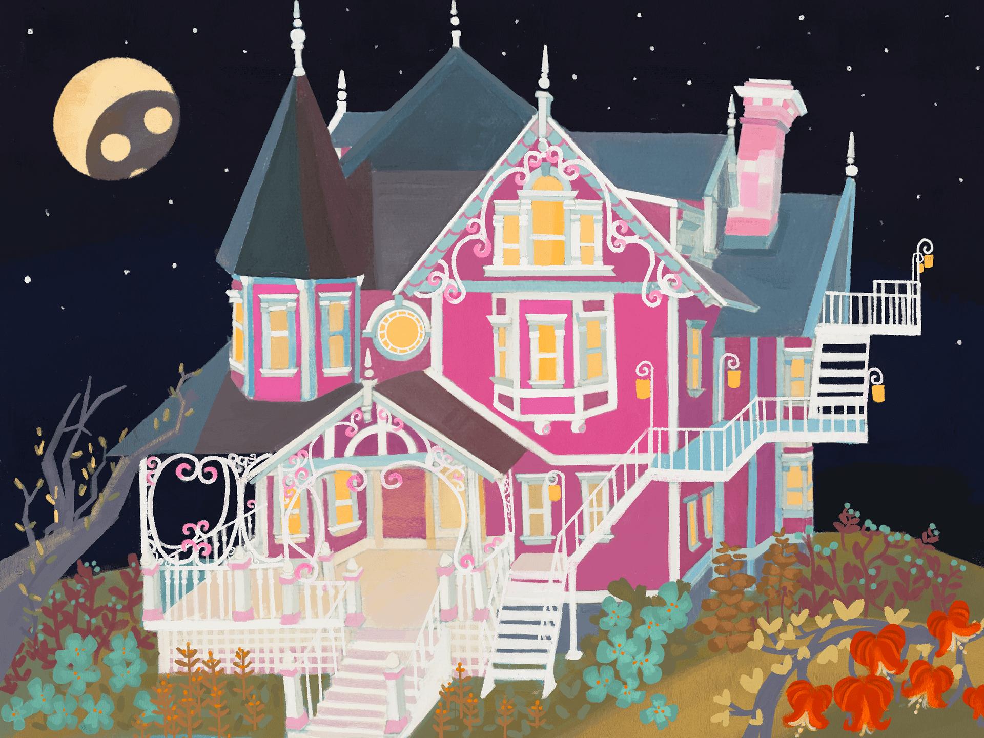 Coraline S House On Behance
