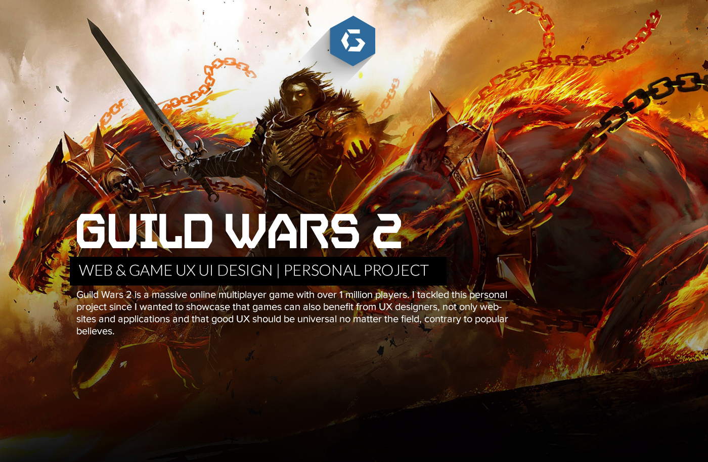 Guild Wars 2 - Massive UX UI redesign on Behance