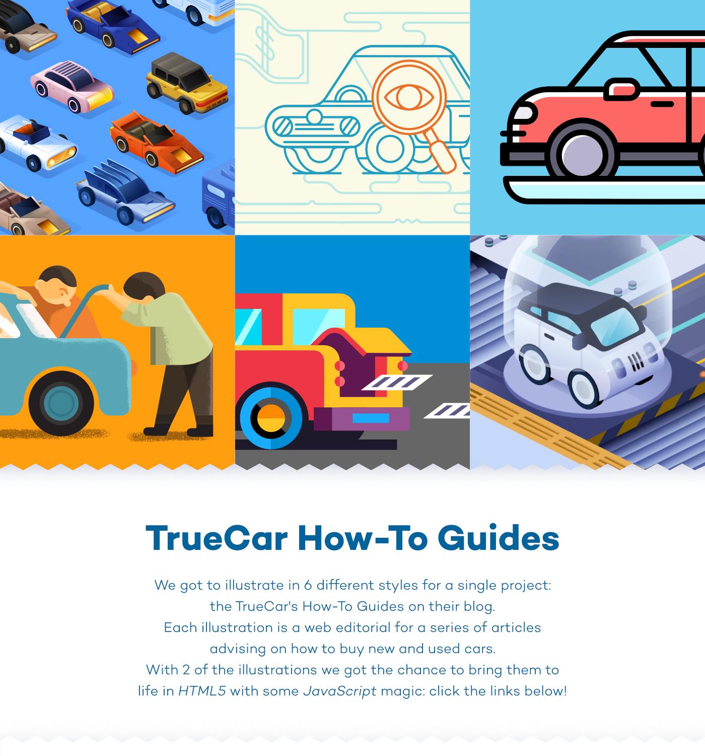 Truecar Used Cars >> Truecar How To Guides On Behance