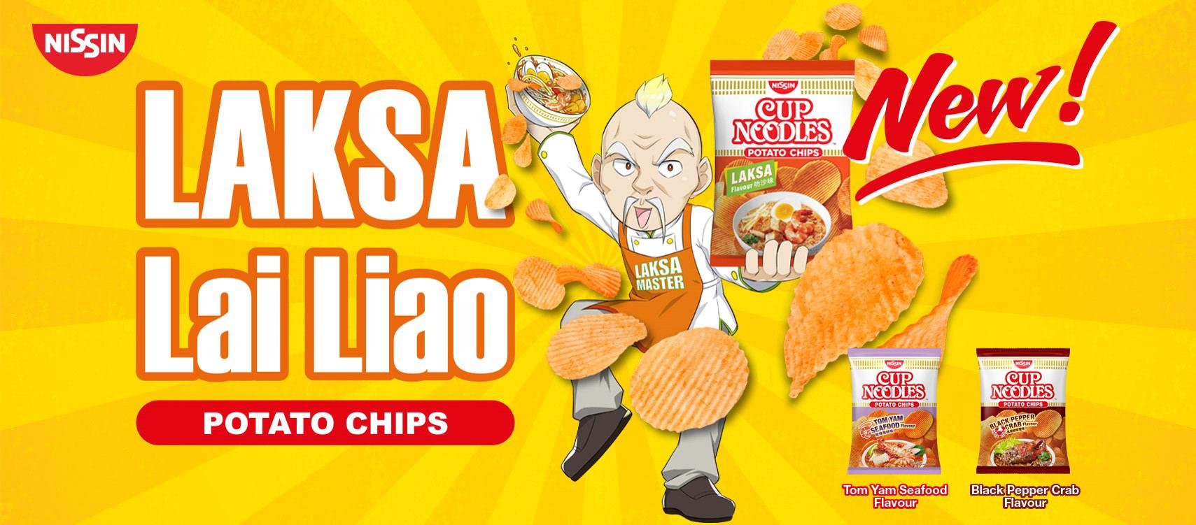 Laksa Potato Chips