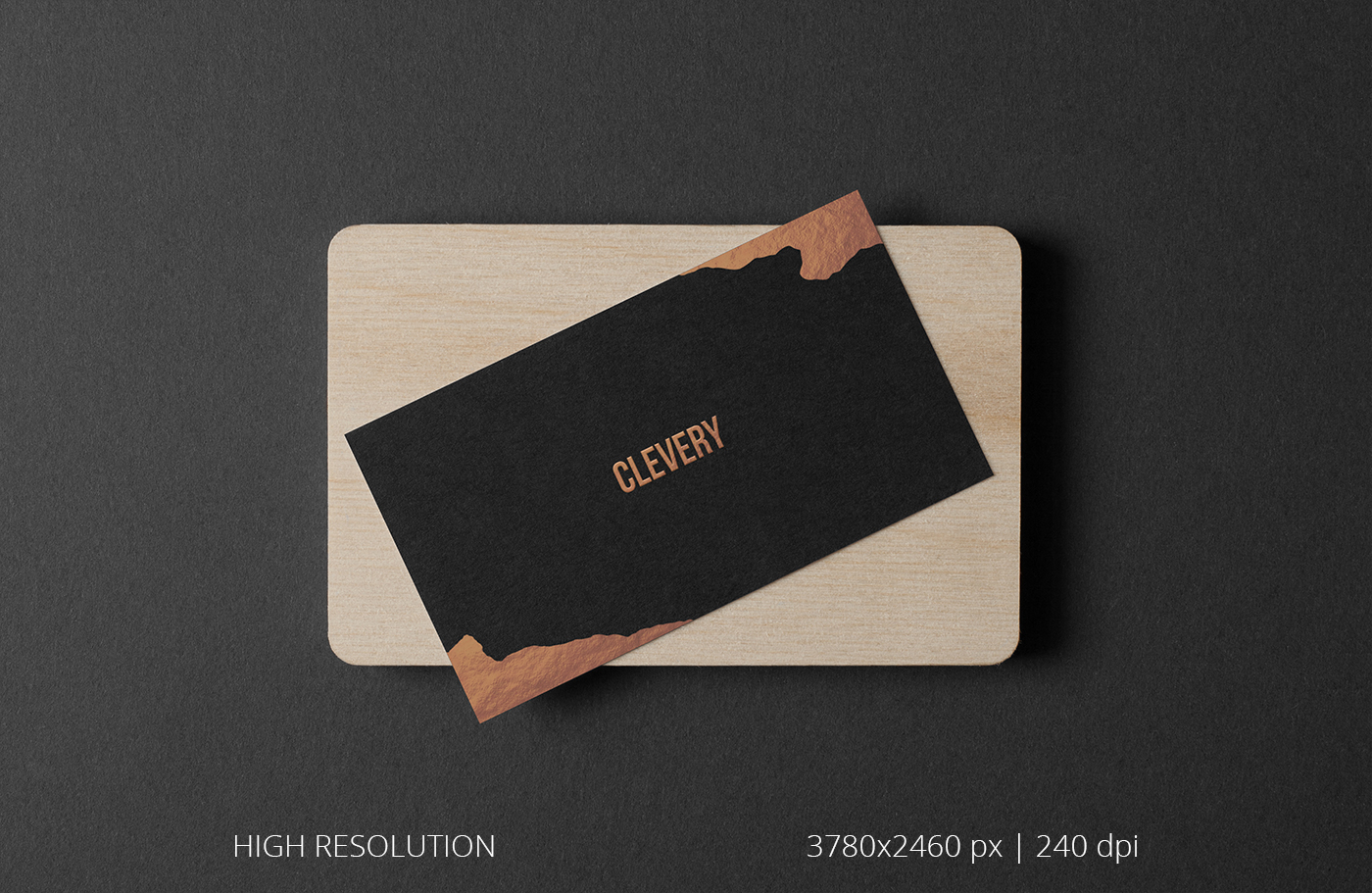 Photorealistic business cards mockup black edition on behance download magicingreecefo Images