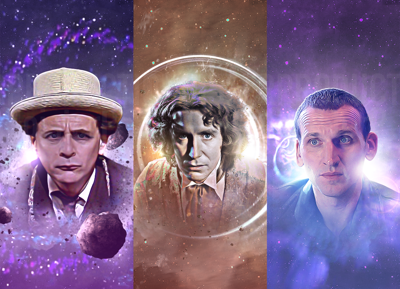 Doctor Who | Alternative Big Finish Cover Strips on Behance