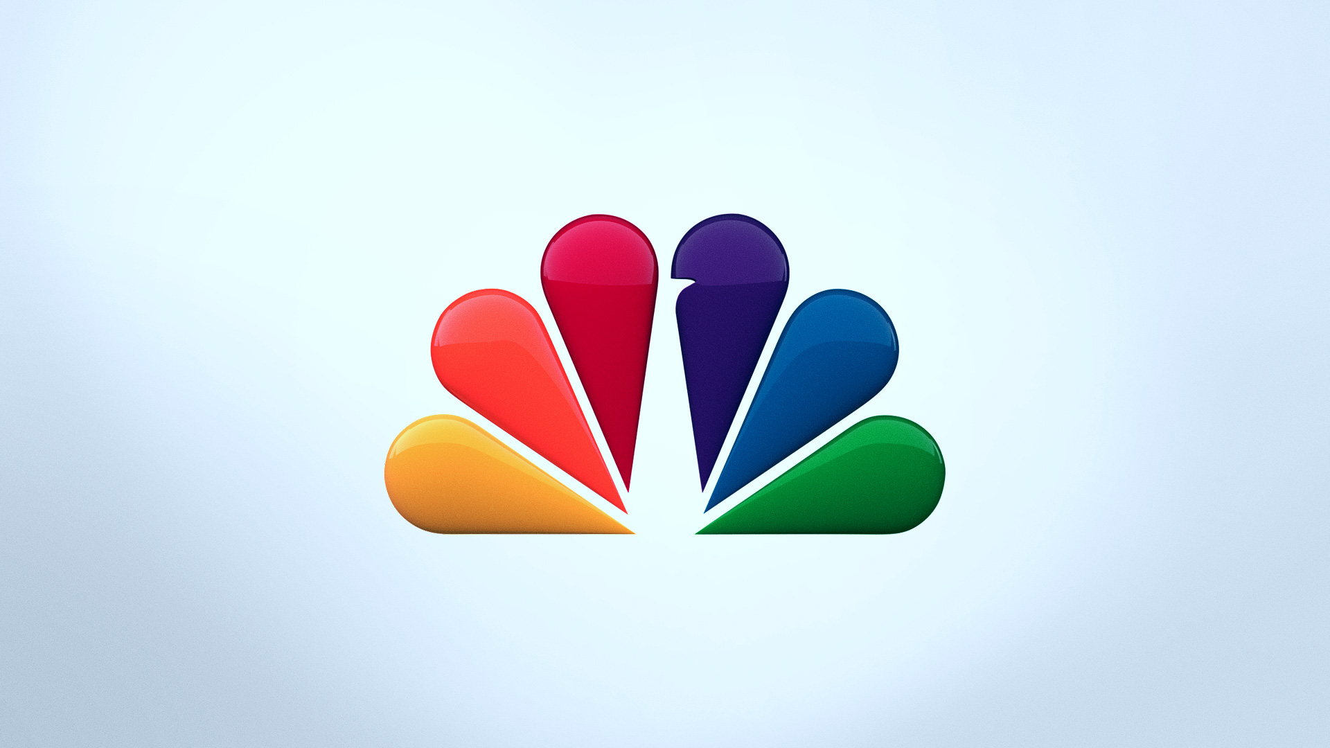 motion title design: nbc hero logo