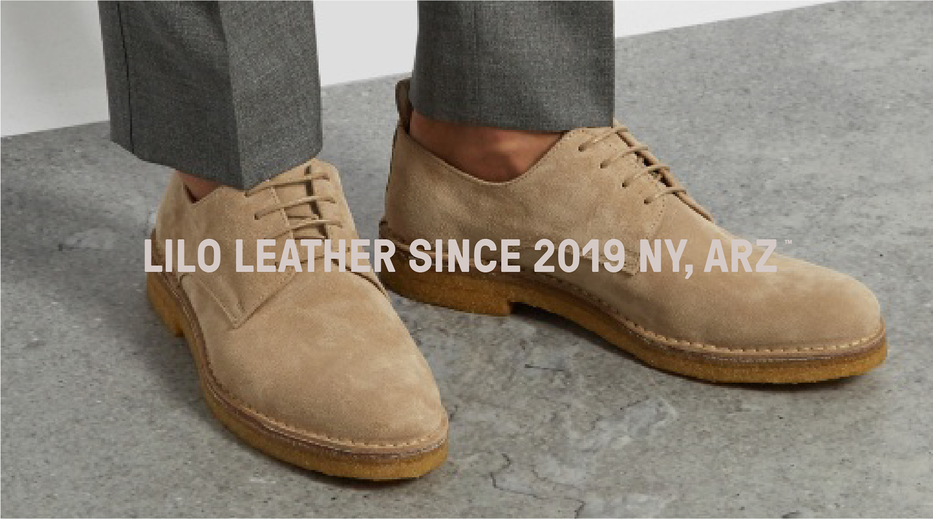 Branding for Lilo™, a brand for men's shoes 100% recycled leather