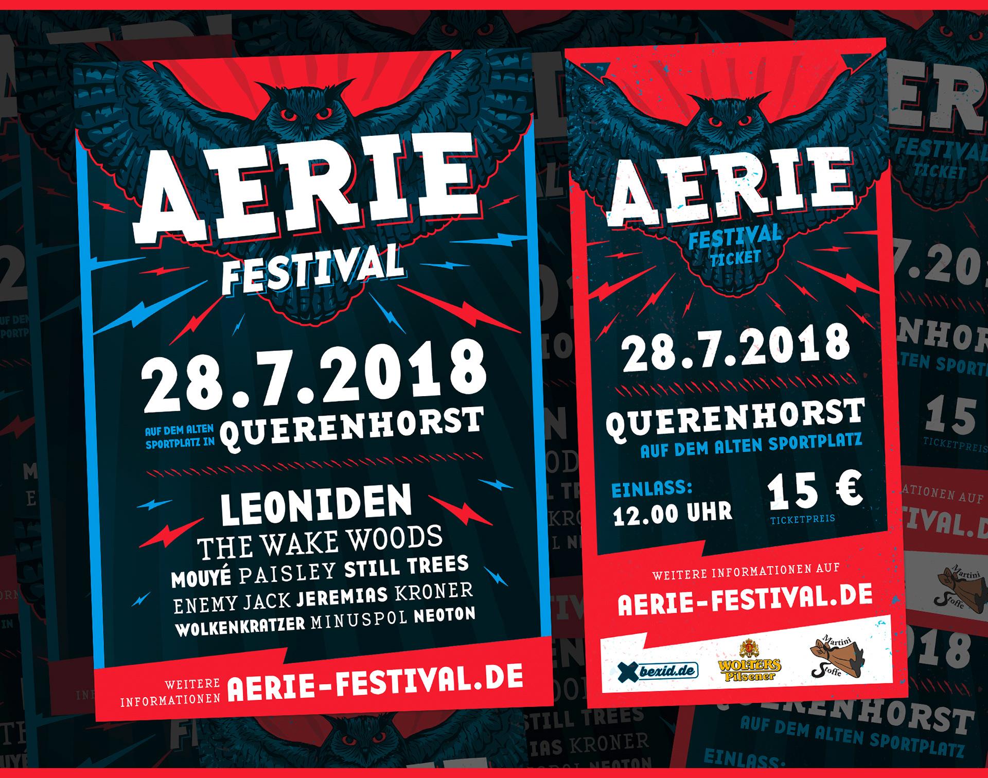 Aerie Festival 2018 On Behance