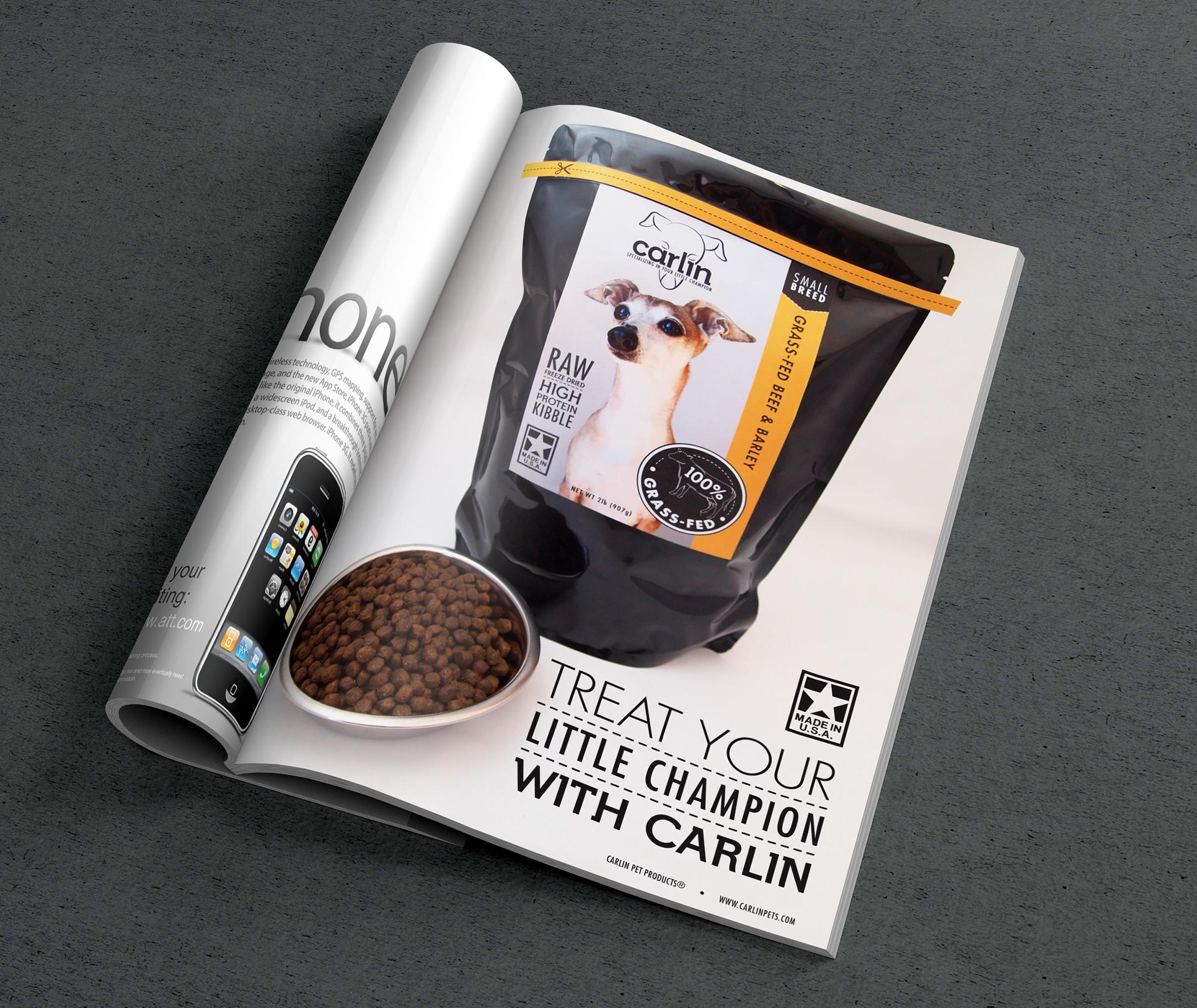 Carlin Pet Product Branding on Behance