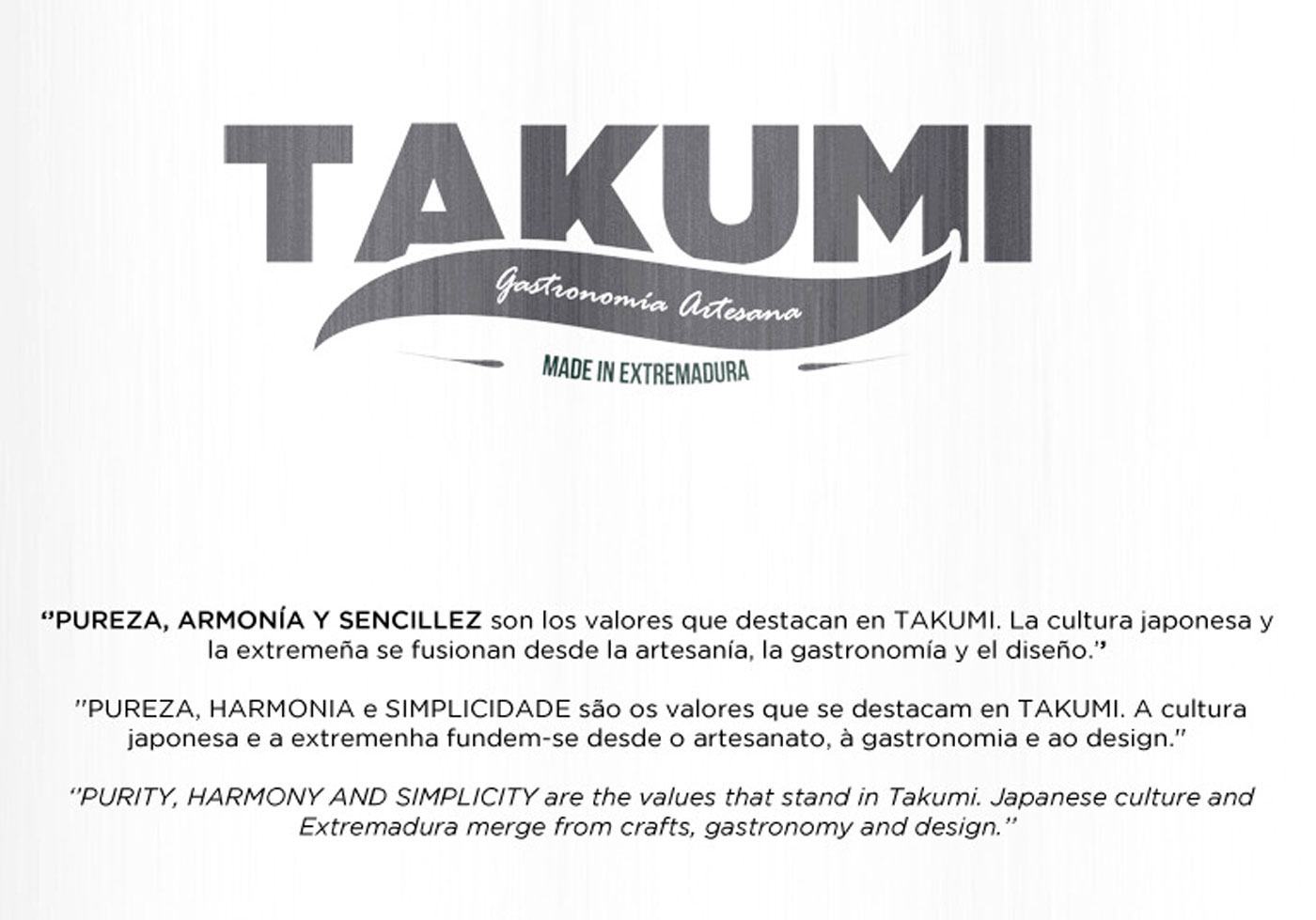 TAKUMI [first prize] on Behance