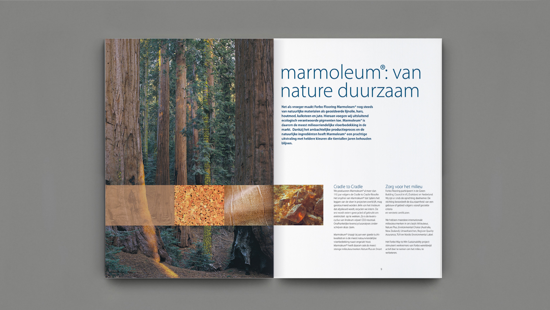 Forbo flooring image brochure on behance