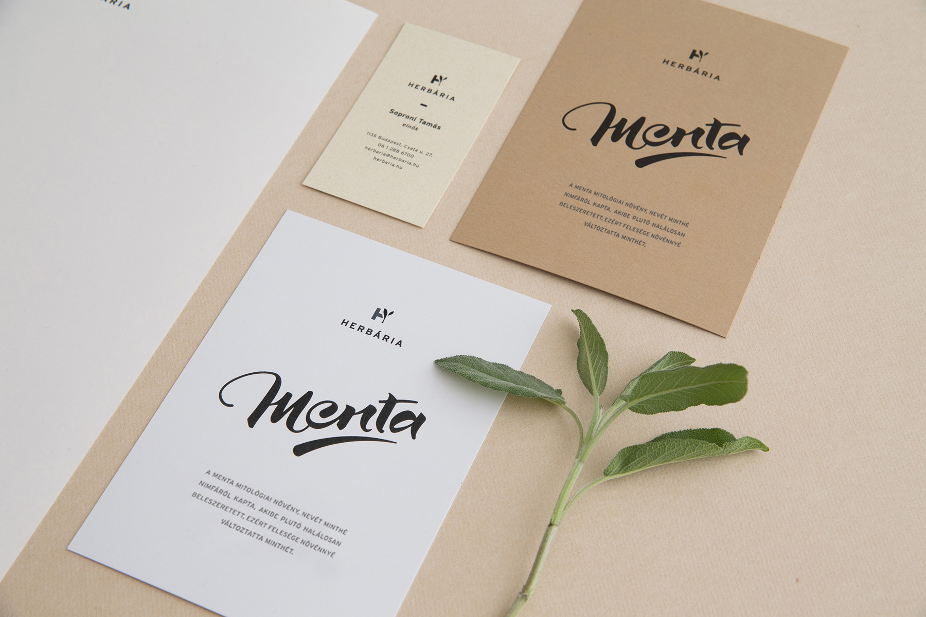 Re-imagined Identity And Packaging Design Of Herbária By Eszti Varga