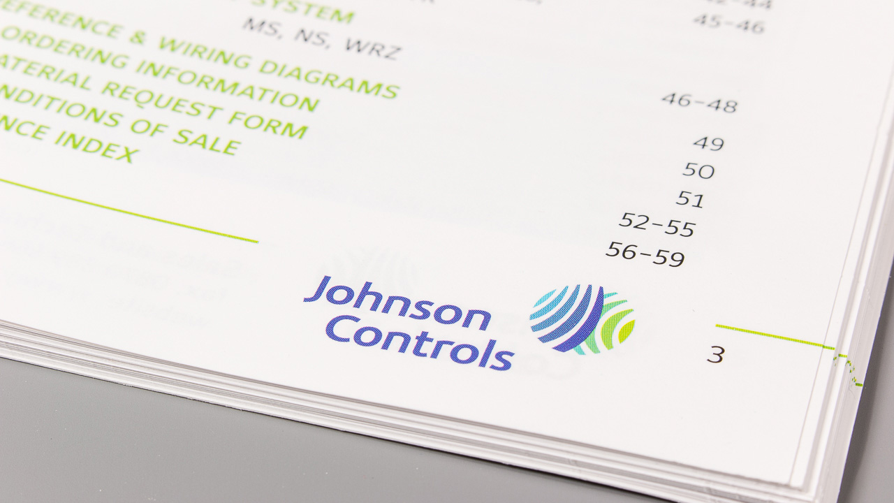 Johnson Controls Product Brochure On Behance Nce Wiring Diagram