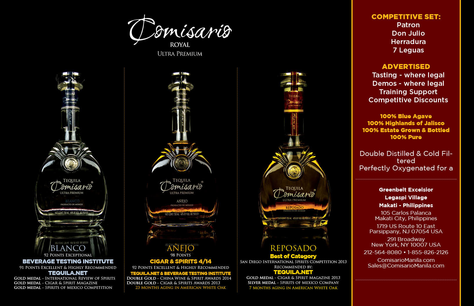 Image result for comisario tequila