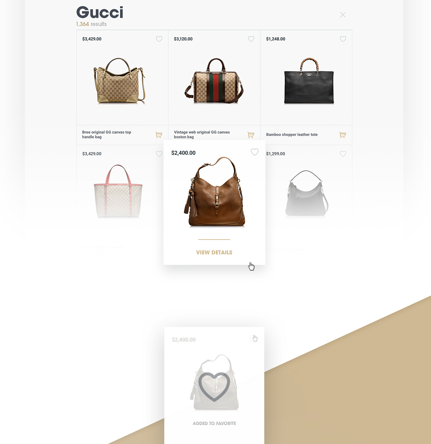 58c00e196f INSELLER Online Luxury Shop on Behance