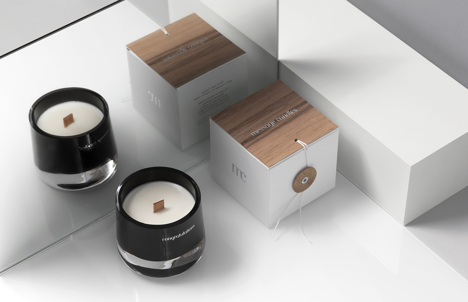 Message candles on behance magicingreecefo Images