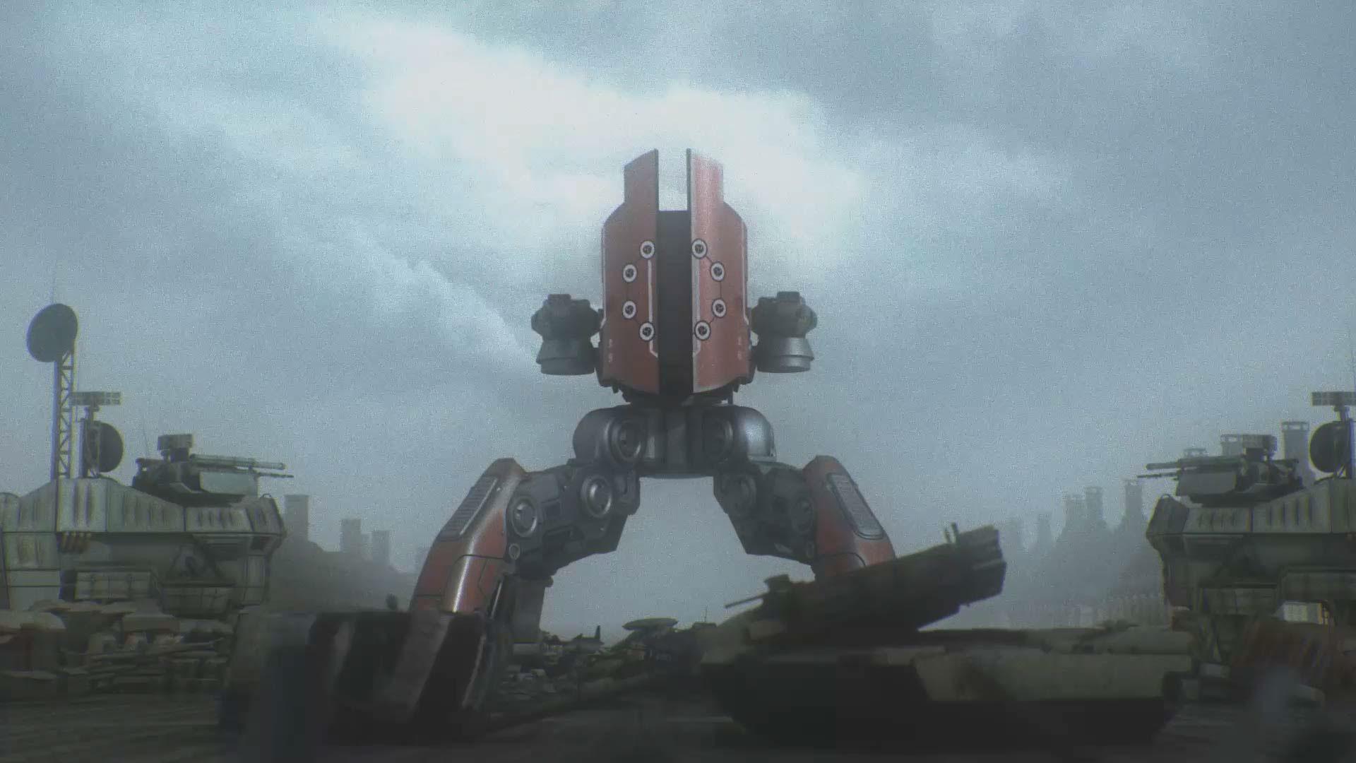 War Robots Cinematic On Behance
