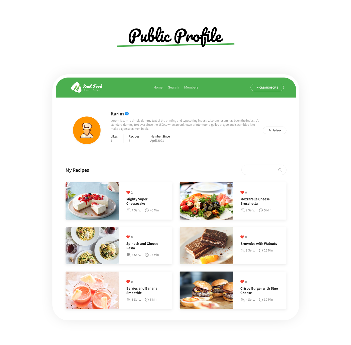 RealFood | The Ultimate PHP Recipes & Community Food - 10
