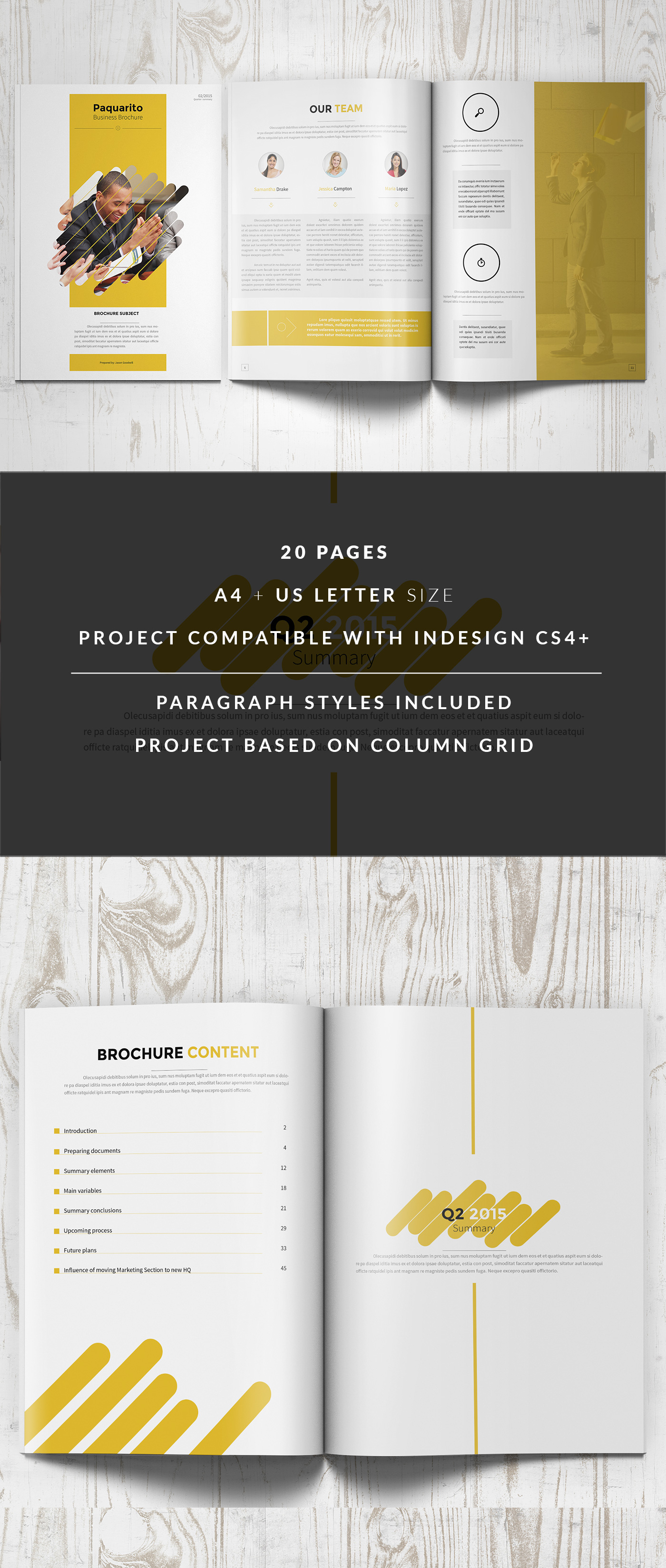Business Proposal Template On Behance  Proposal Layouts
