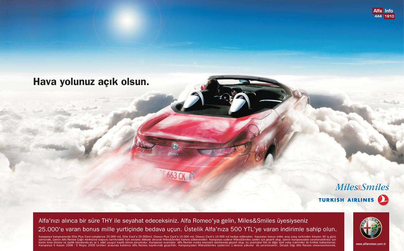 alfa romeo print ads on behance