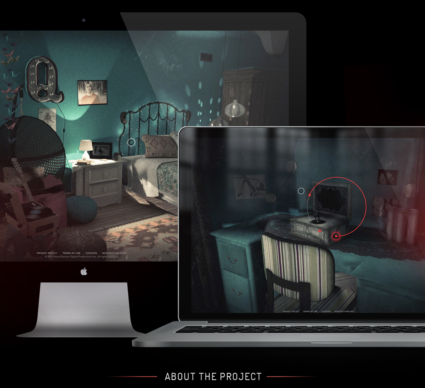 Insidious Chapter III: The Room Experience on Behance