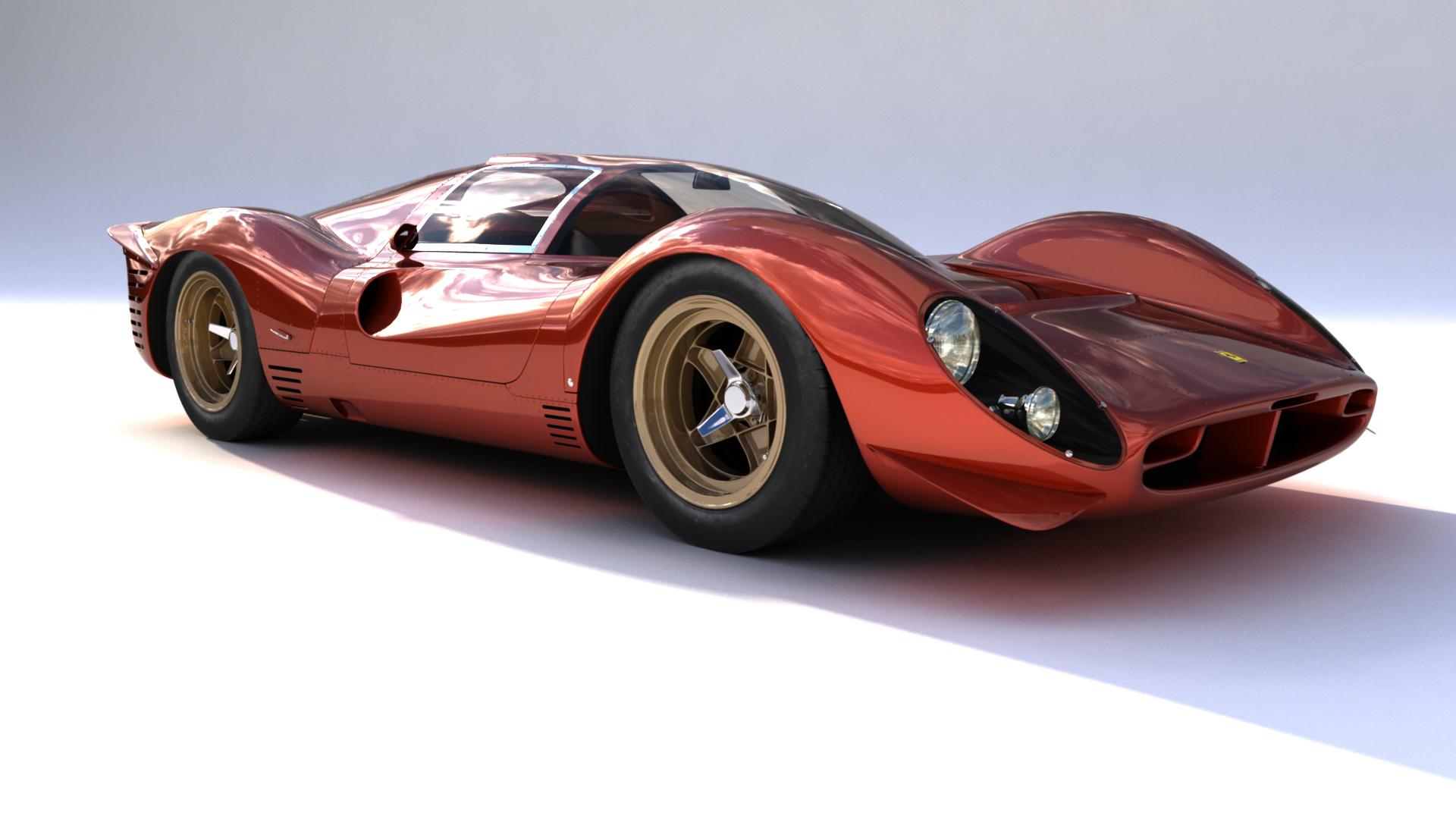 FERRARI 330 P4 MAYA MODEL Ferrari
