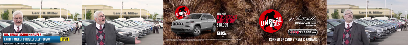 Unreal Deals: Larry H. Miller Chrysler Jeep Tucson On Behance