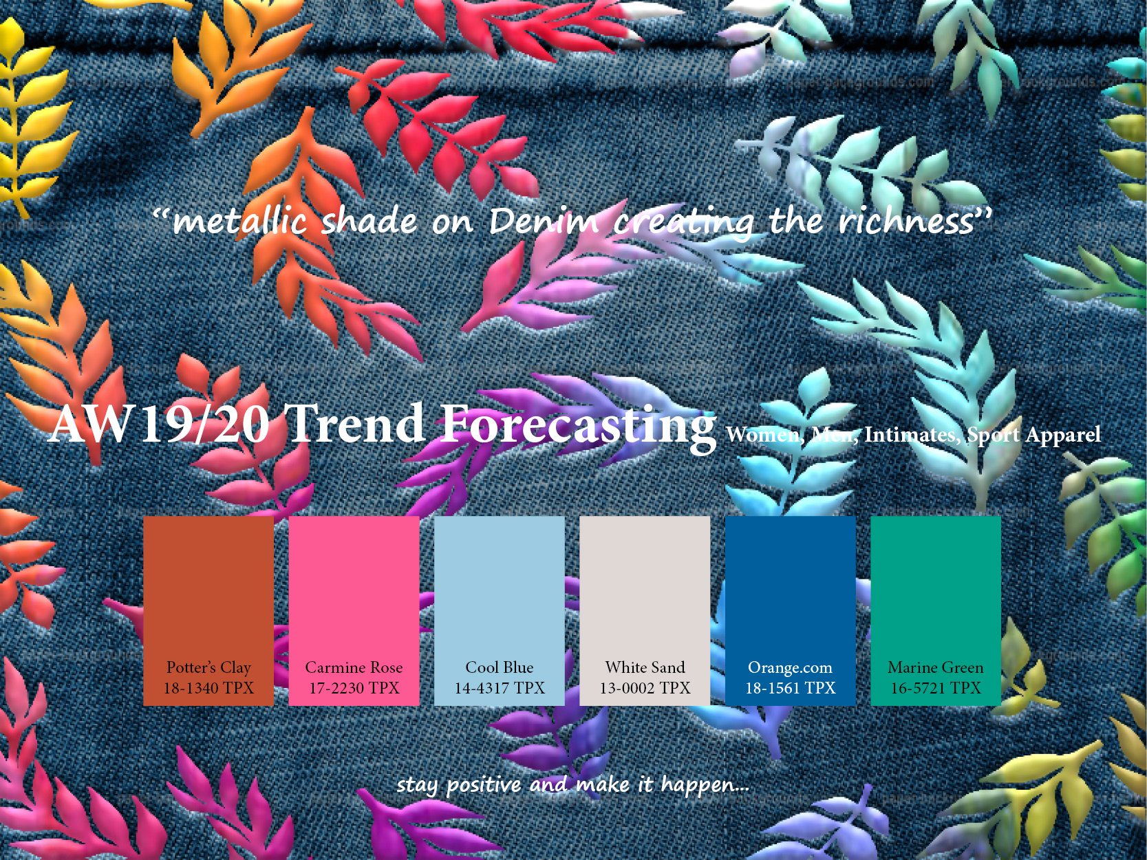 AW2019/2020 Trend forecasting on Behance