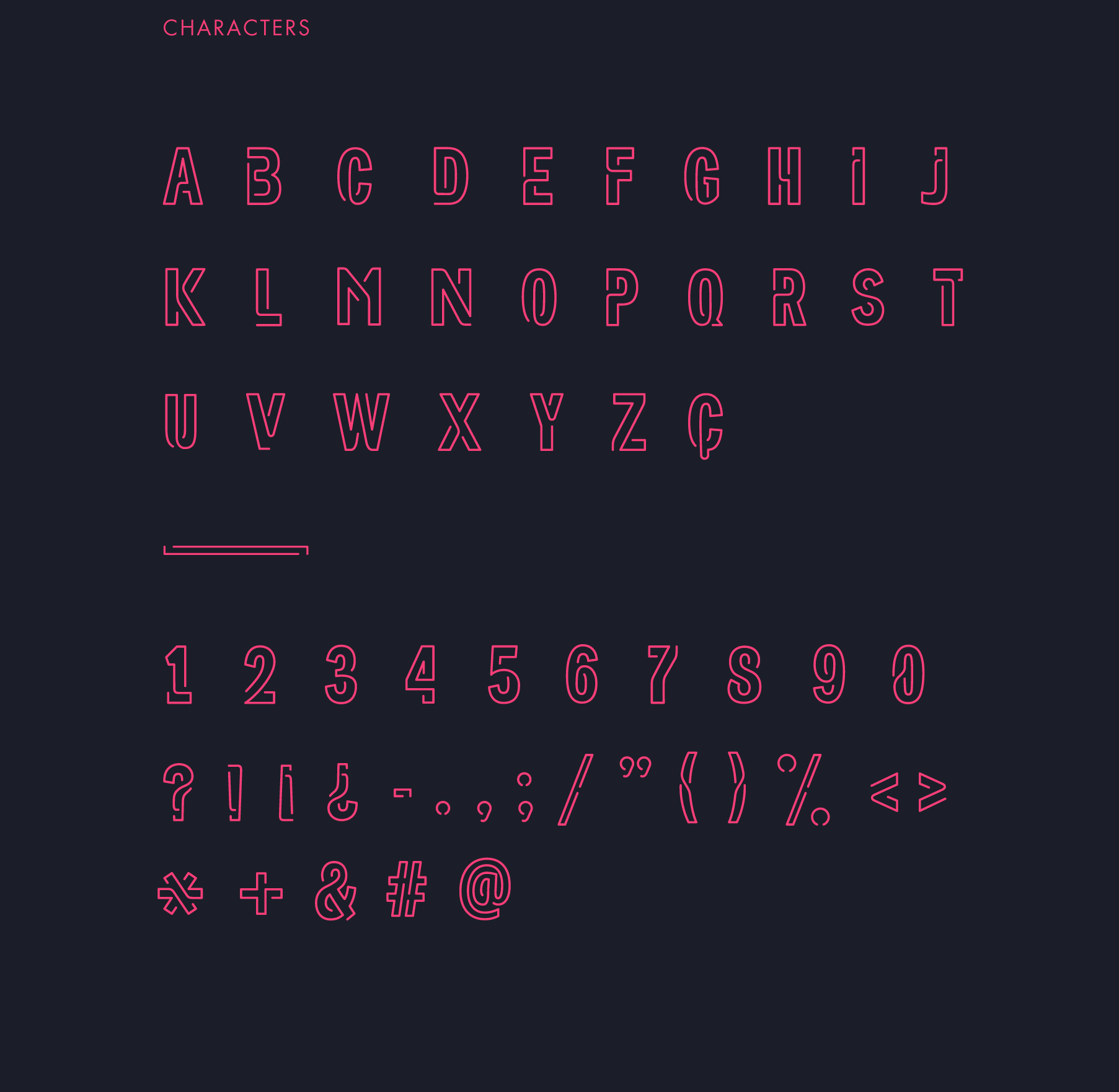 NEONEON - FREE FONT on Behance