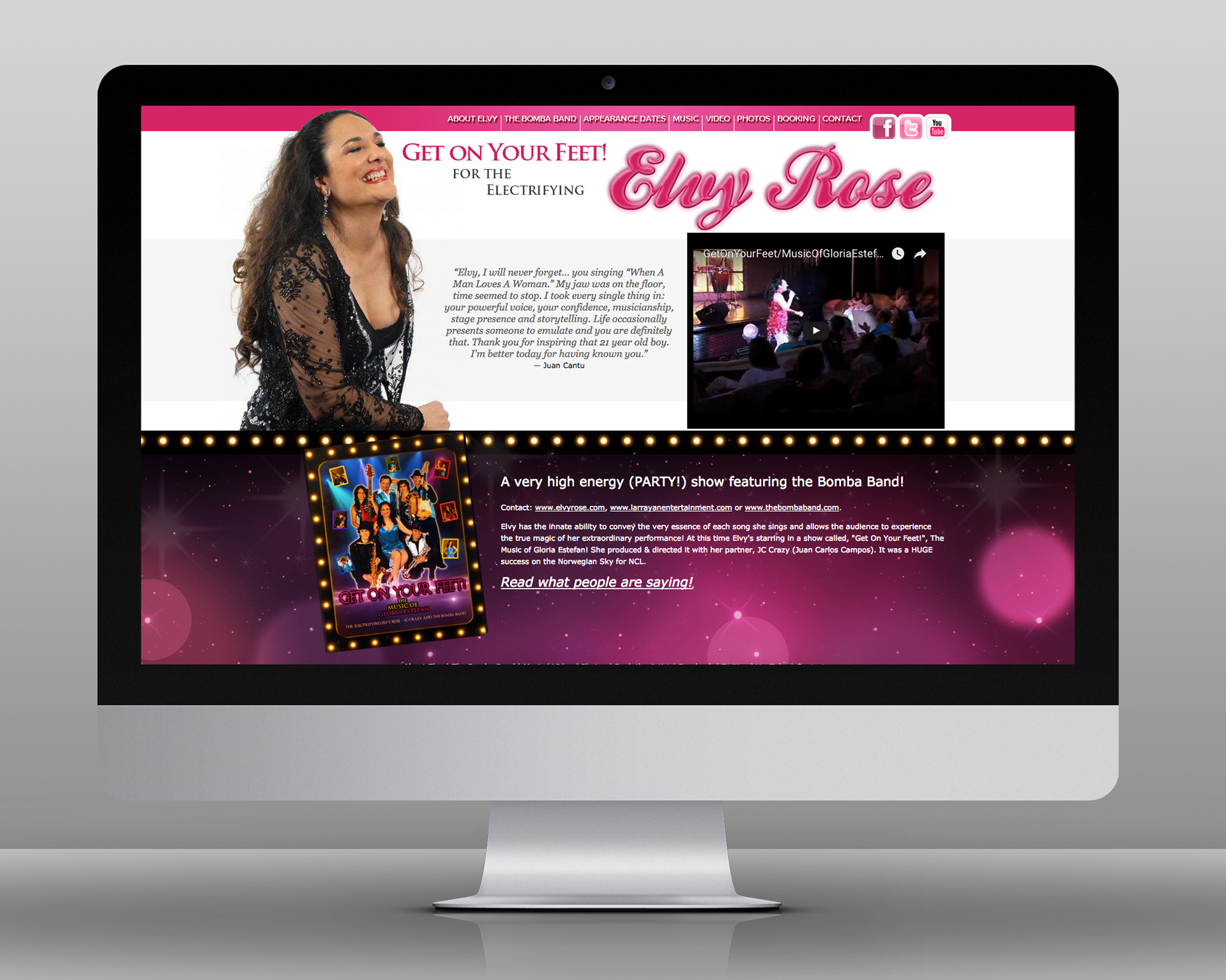 Elvy Rose Entertainer On Behance