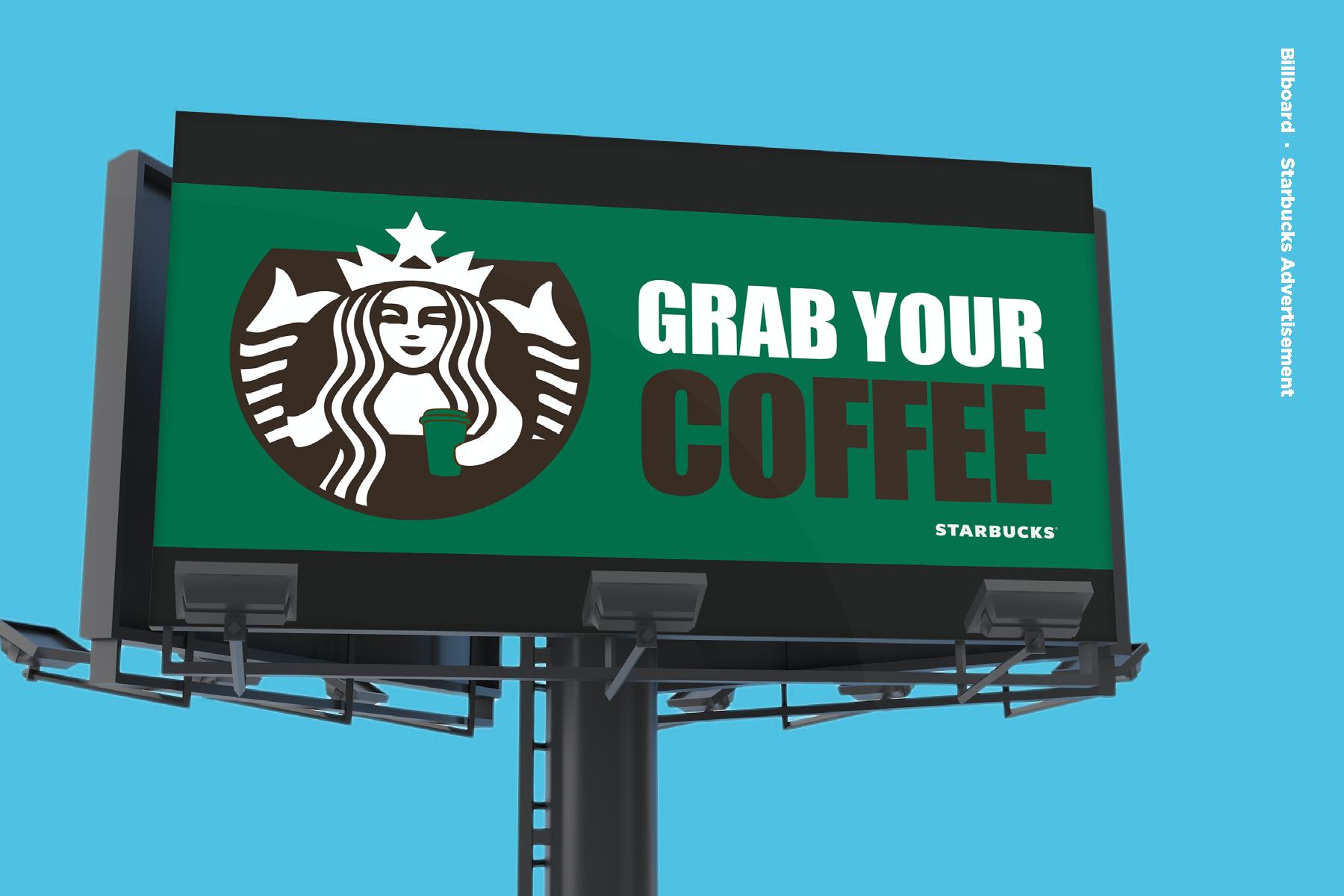 Starbucks Billboard Design On Behance