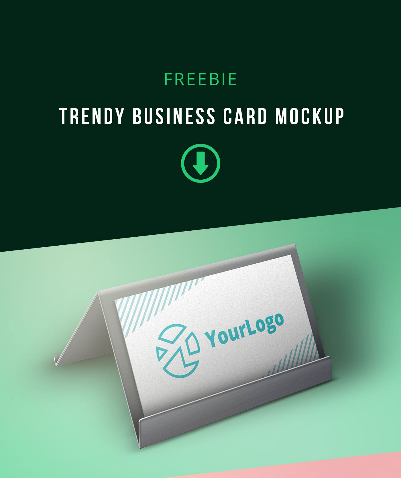Free Trendy Business card Mockup on Behance