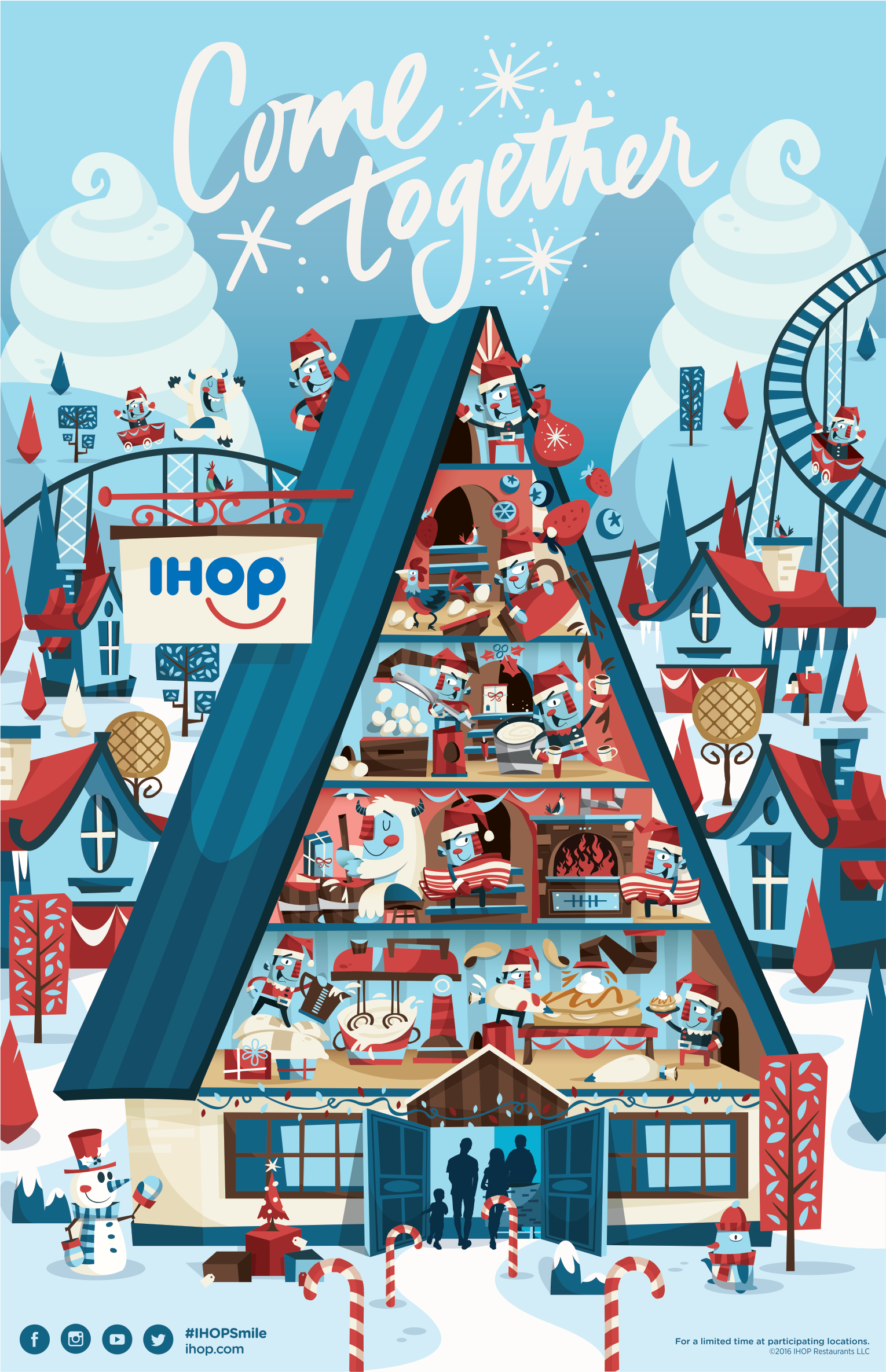 IHOP Holiday Series on Behance