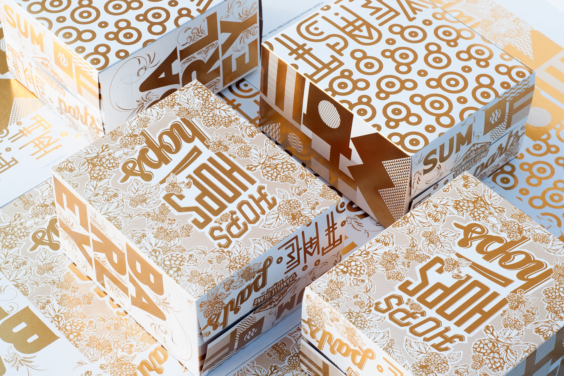 Graphic Design & Typography Works by Sami Christianson