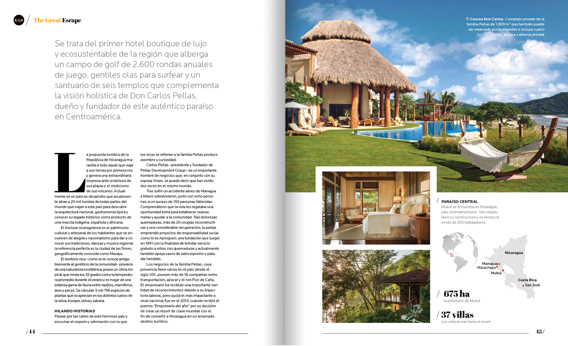 Golf Spa Lifestyle Magazine On Behance