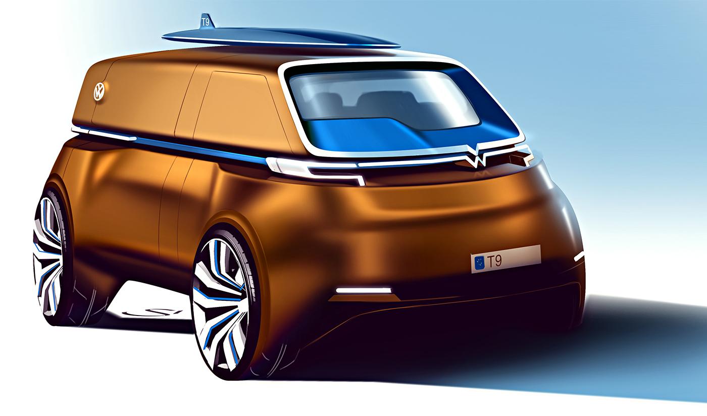 Volkswagen Transporter T9 on B...