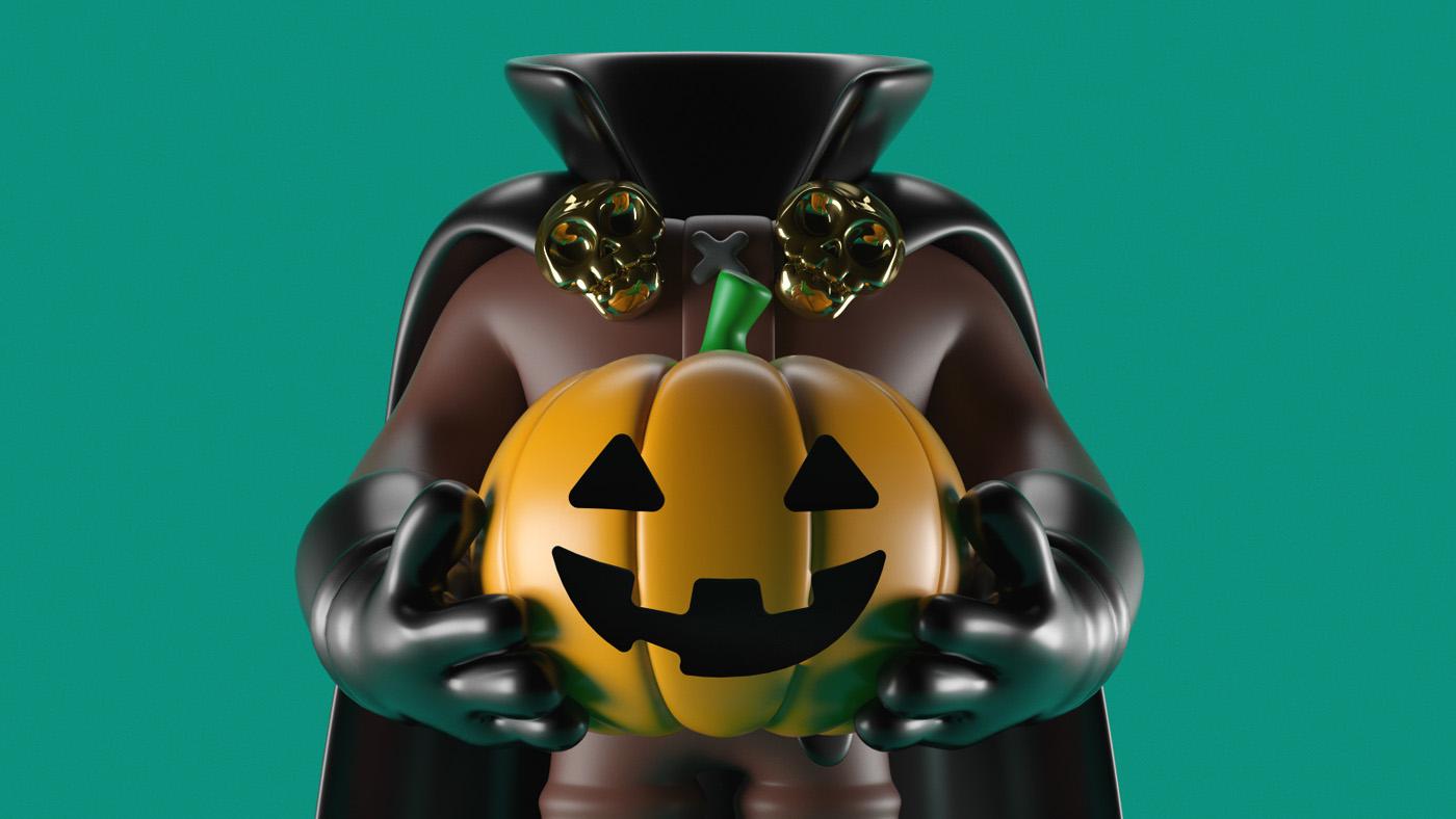 Nick Halloween No 2 on Behance