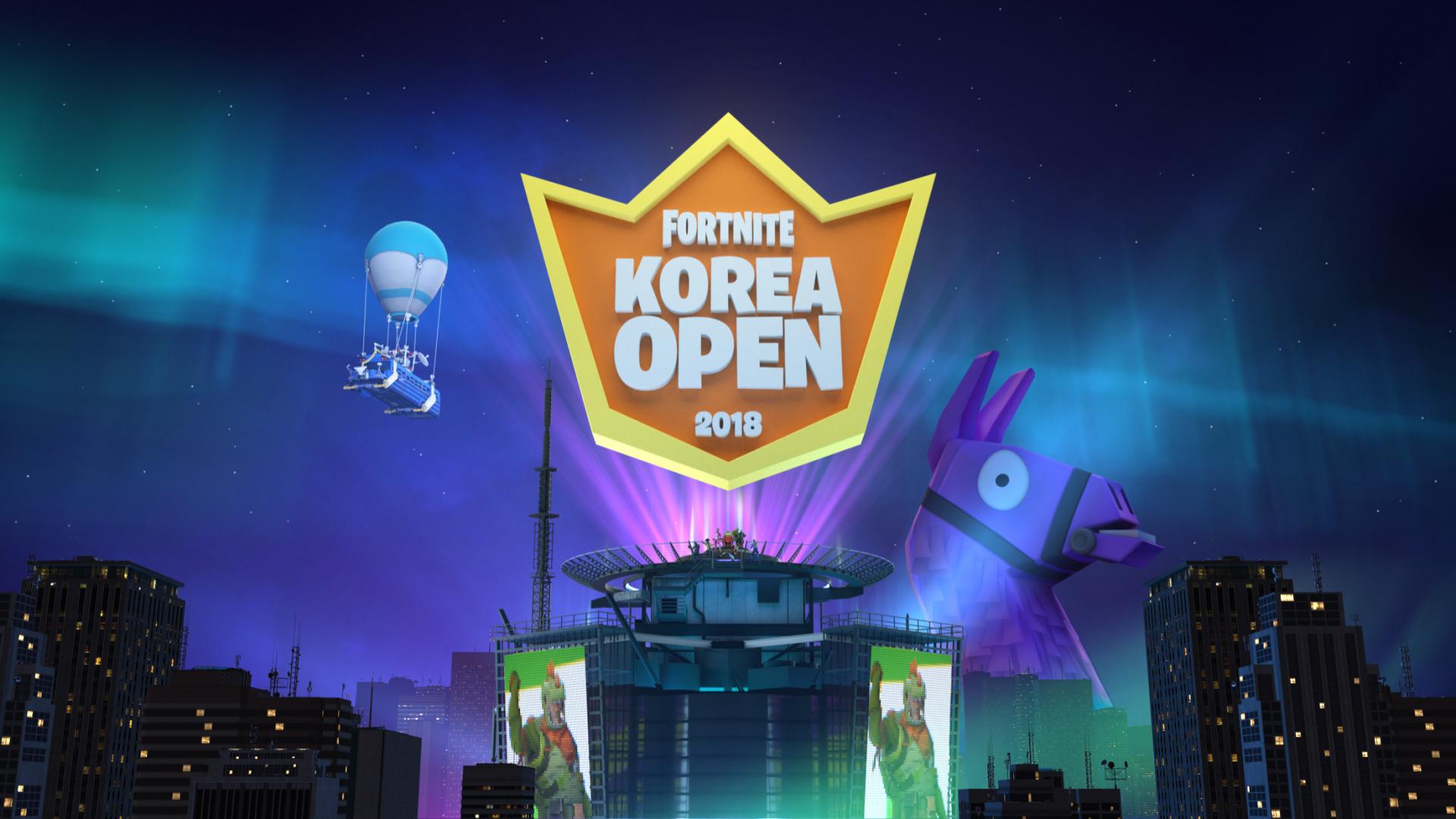 - korea open fortnite