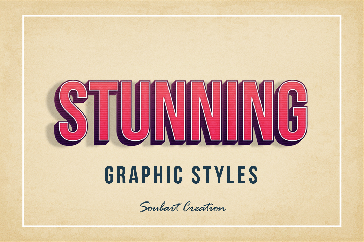 21 Vintage Retro Graphic Styles Download On Behance # Muebles Deutsch
