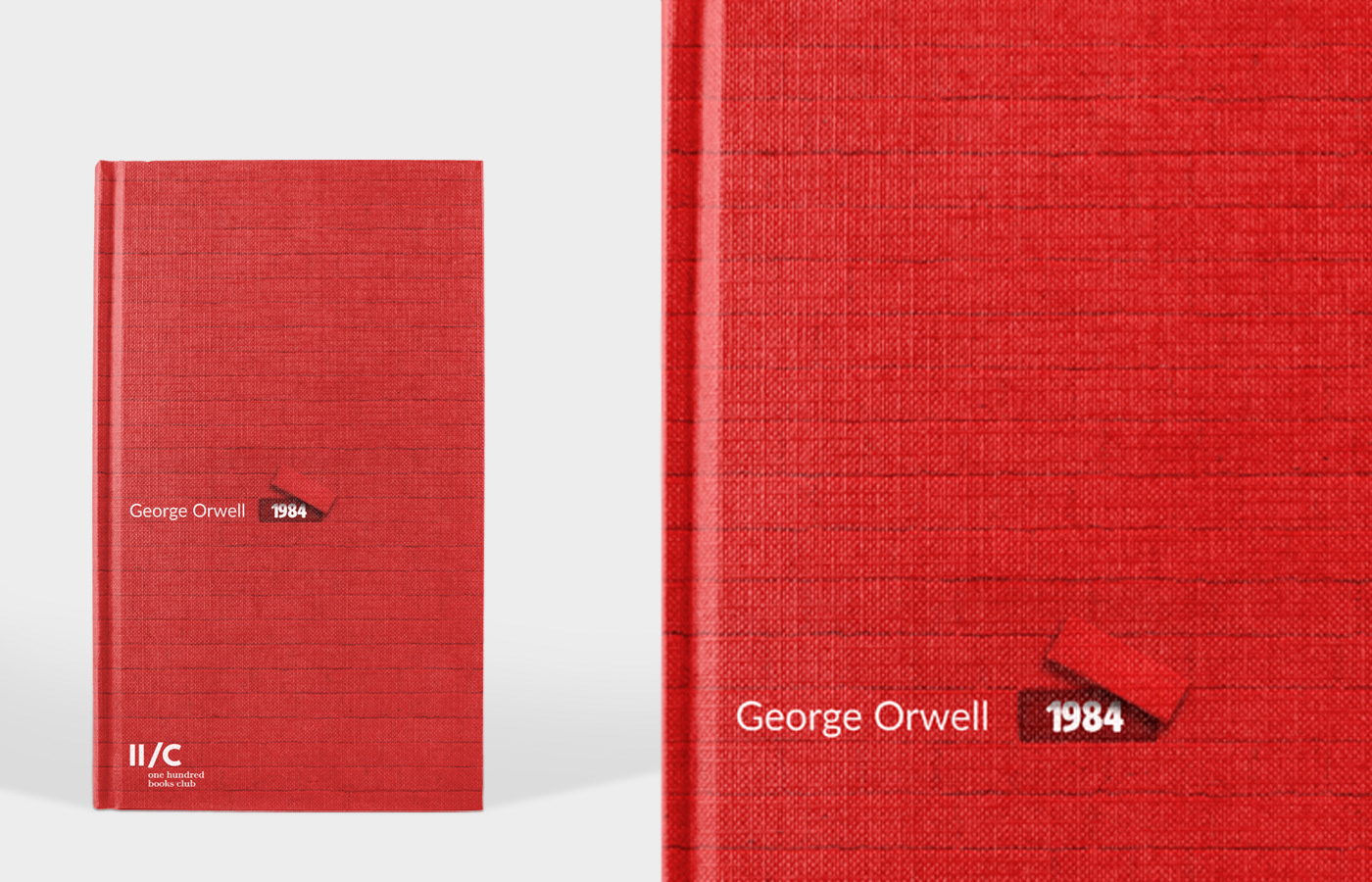 1984 redesign book cover on Behance
