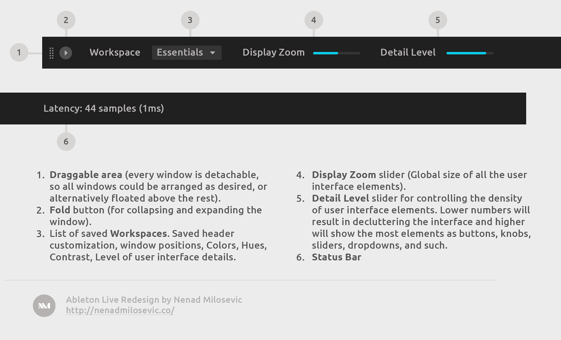 Ableton Live Redesign on Behance